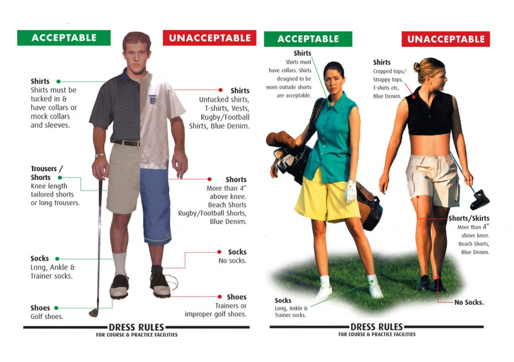 Standard-golf-course-dress-code